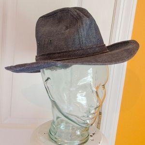 Vintage Men's Knox Denim Cowboy Style Hat